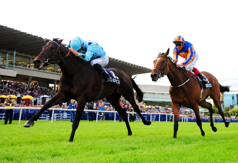 Brilliant Almanzor too good for Found in Champion Stakes
