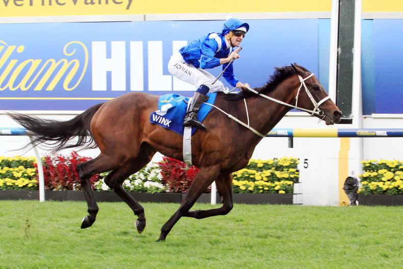 SIMON ROWLANDS: Winx the best active performer in the world