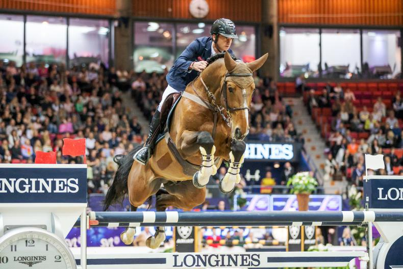 Denis Lynch and All Star 5 runners-up in Lyon