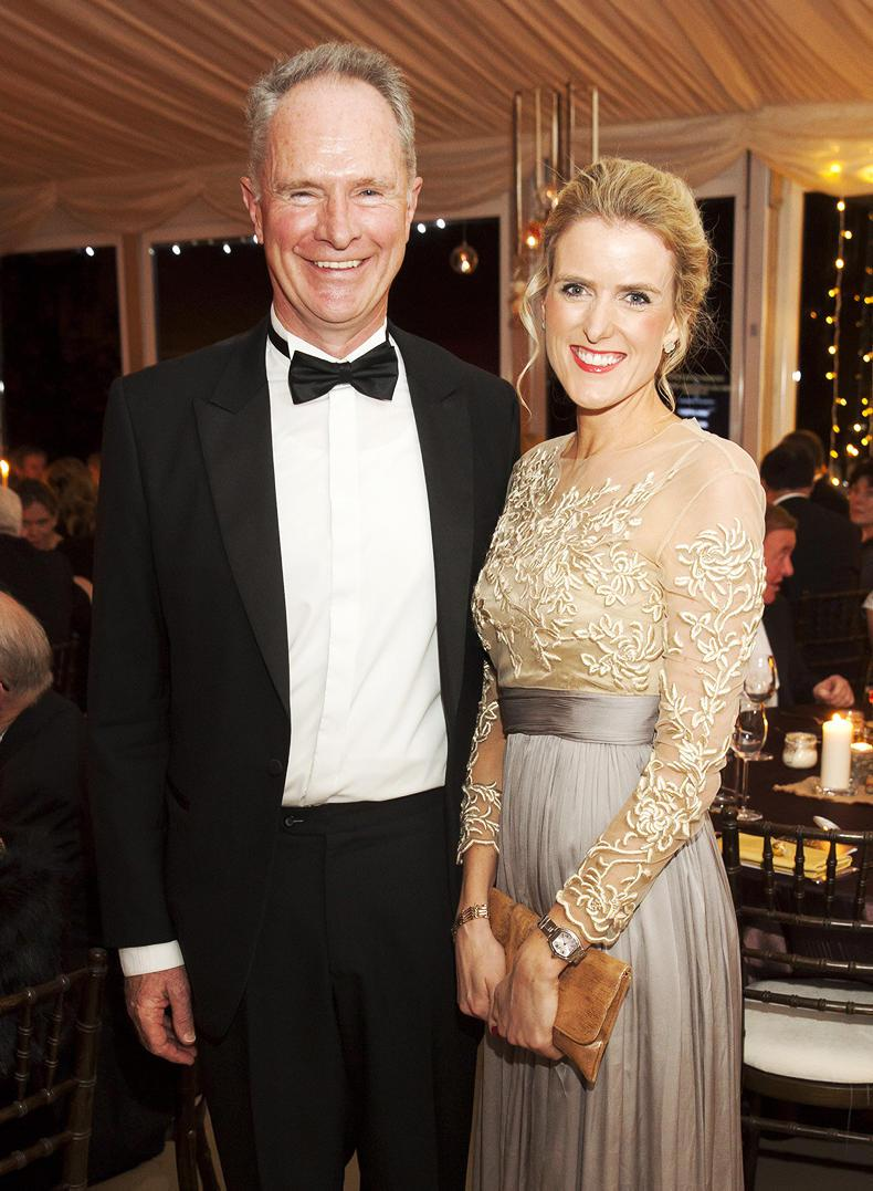 PARROT MOUTH: Devenish ball for Farm Africa at Dowth