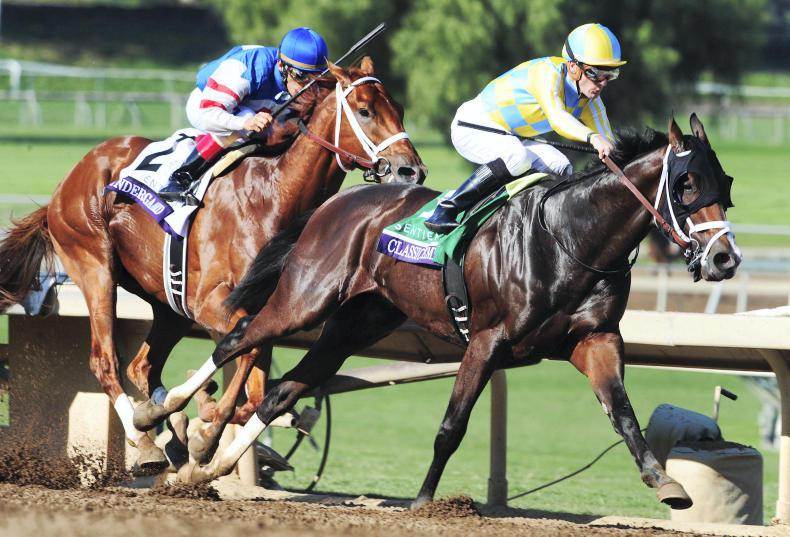 BREEDERS' CUP: Champagne for Classic Empire connections