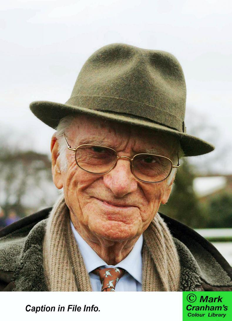 PARROT MOUTH: Sir Peter O'Sullevan's spirit lives on