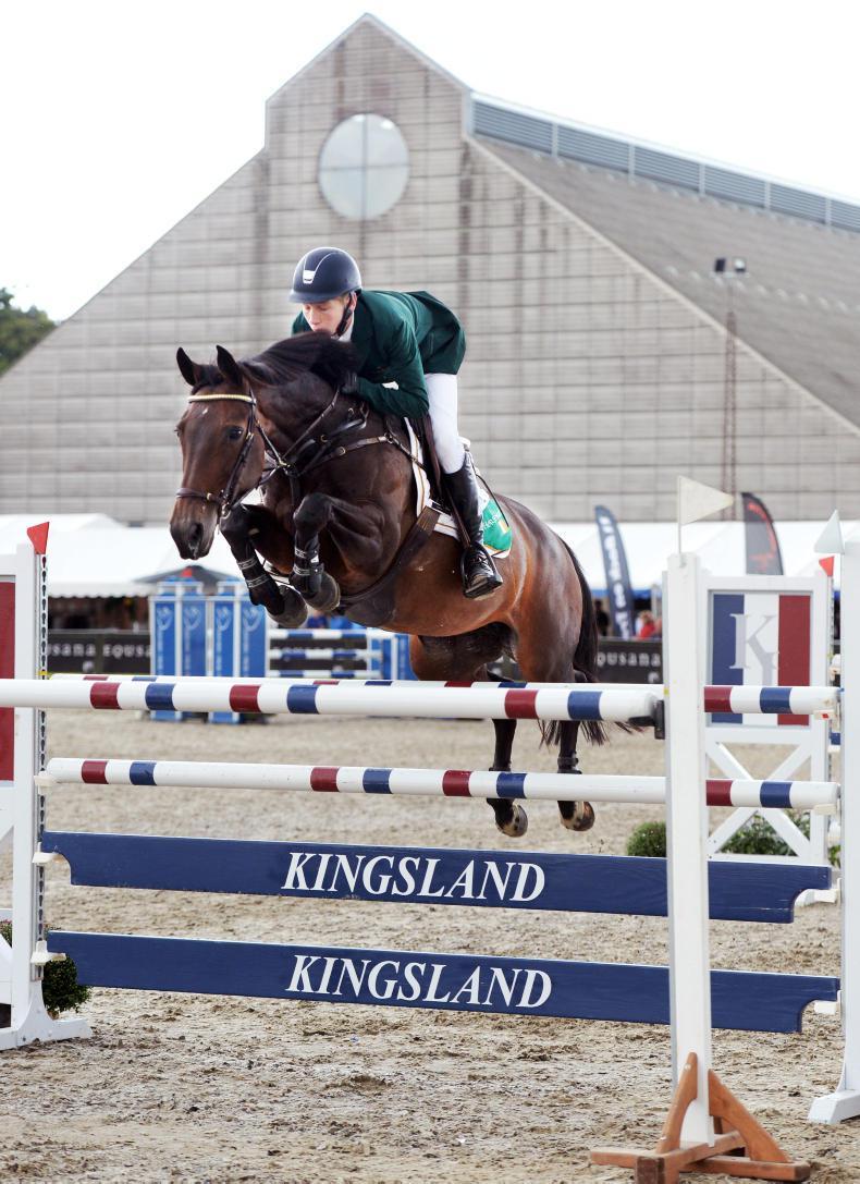 INTERNATIONAL: Pony riders dominate in Belgium