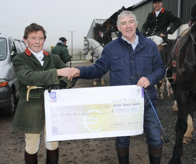 PONY TALES:  Limerick Harriers support Liskennet