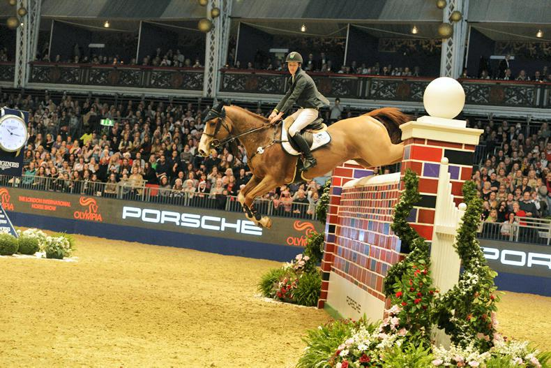 INTERNATIONAL: Megahey records career highlight in Olympia puissance