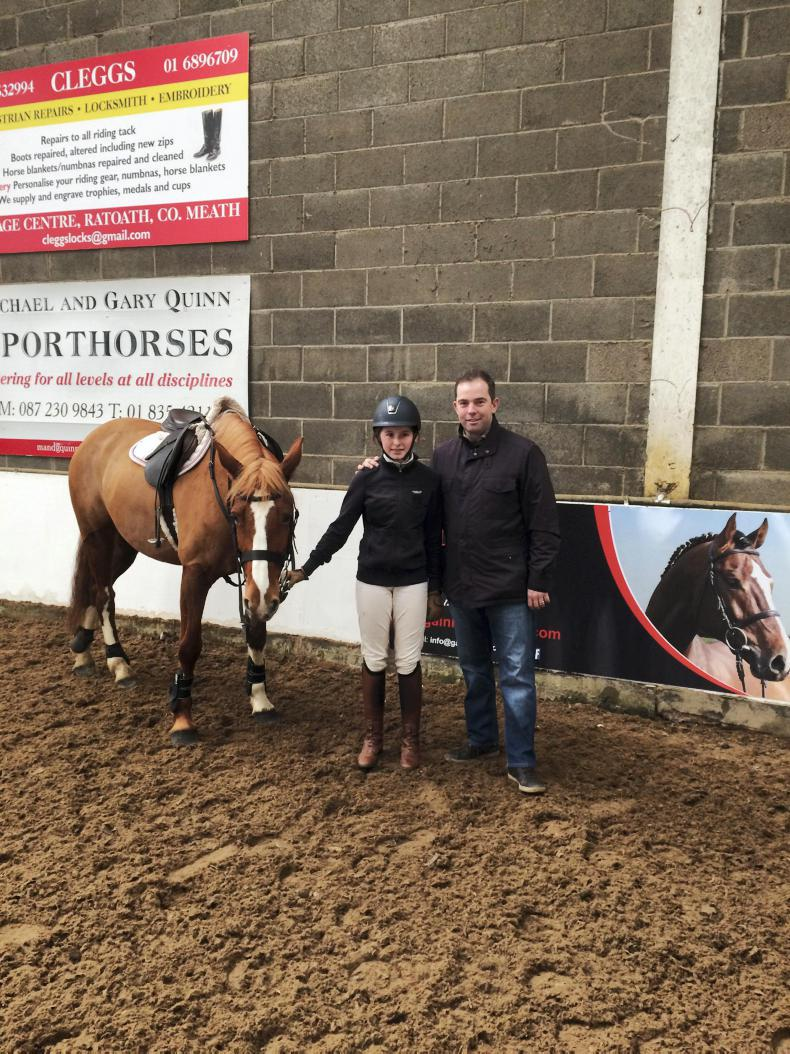 PONY TALES: Christmas comes early for Niamh!