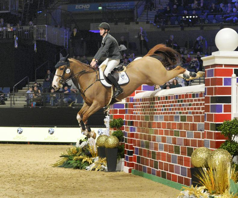 Megahey leads Irish one-two-three in Liverpool International Puissance