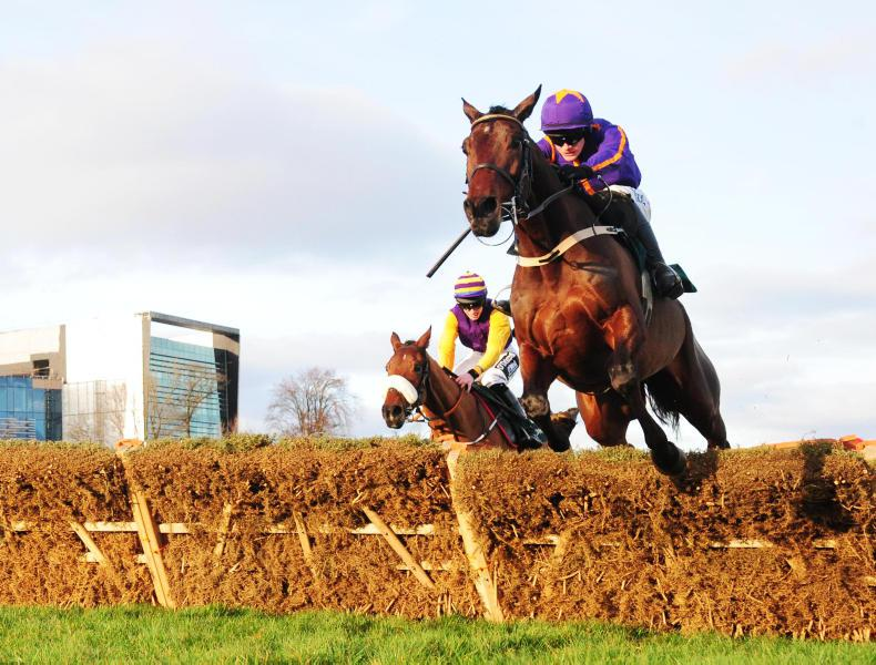 TIME WILL TELL: Saturnas fastest hurdle winner at Leopardstown
