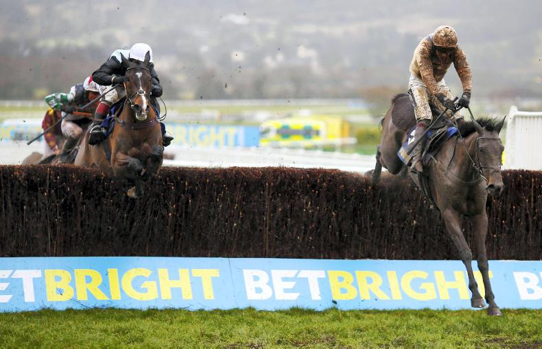 TIME WILL TELL: Tough conditions in Cheltenham