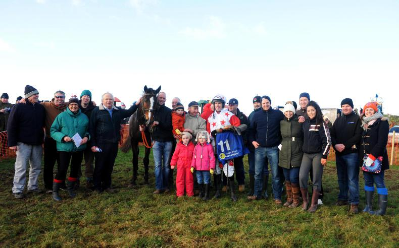 PICTURE DESK:  Boulta point-to-point