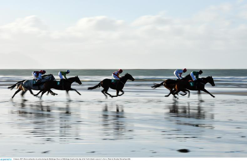 PONY RACING: Coen claims a new year double