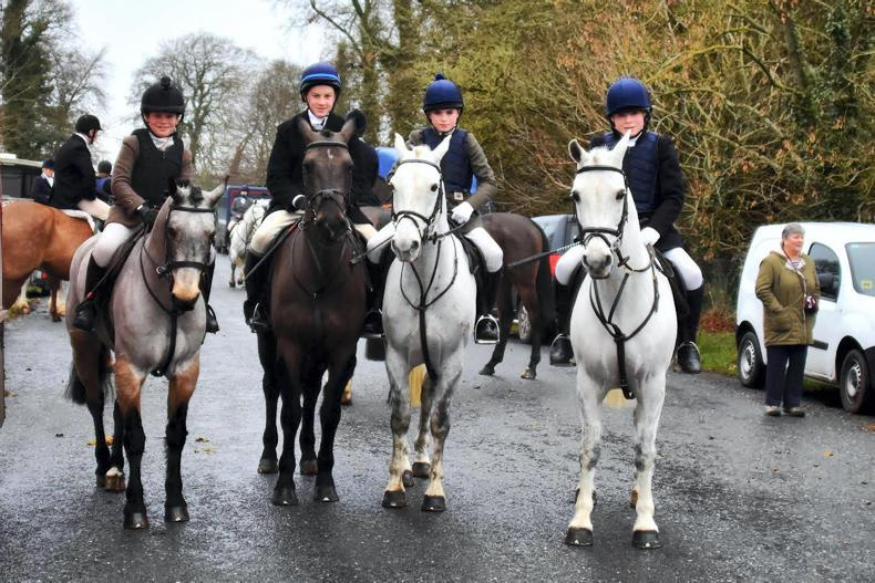 PONY TALES:  Young Hunters