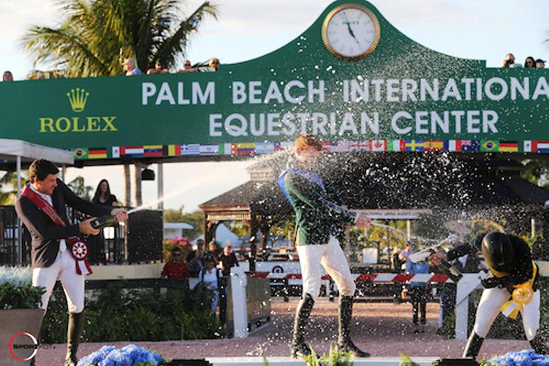 Coyle tops $75,000 Grand Prix to conclude week one at WEF