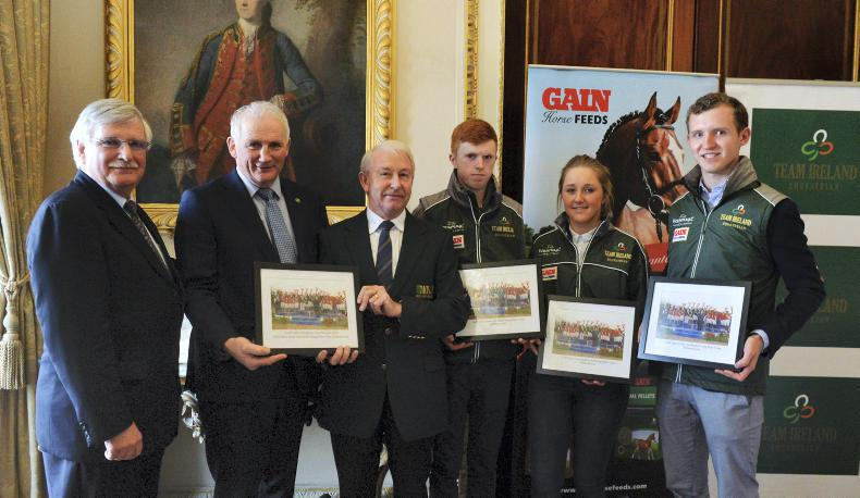 NEWS: Young Rider gold medal winners honoured