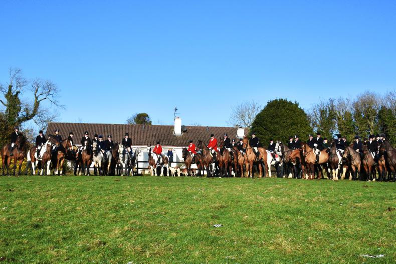 NEWS:  Ward Union Staghounds meet at home of Arkle