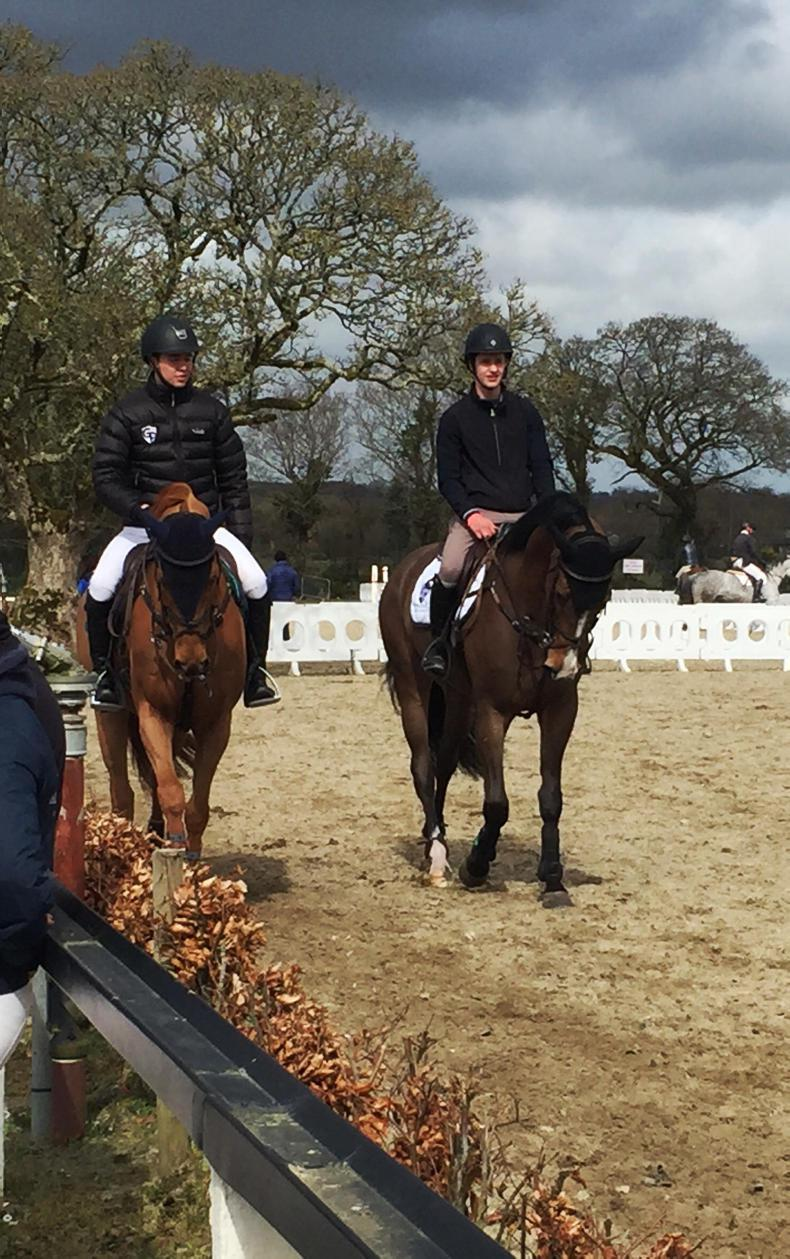 FEATURE: Show jumping brothers are aiming high