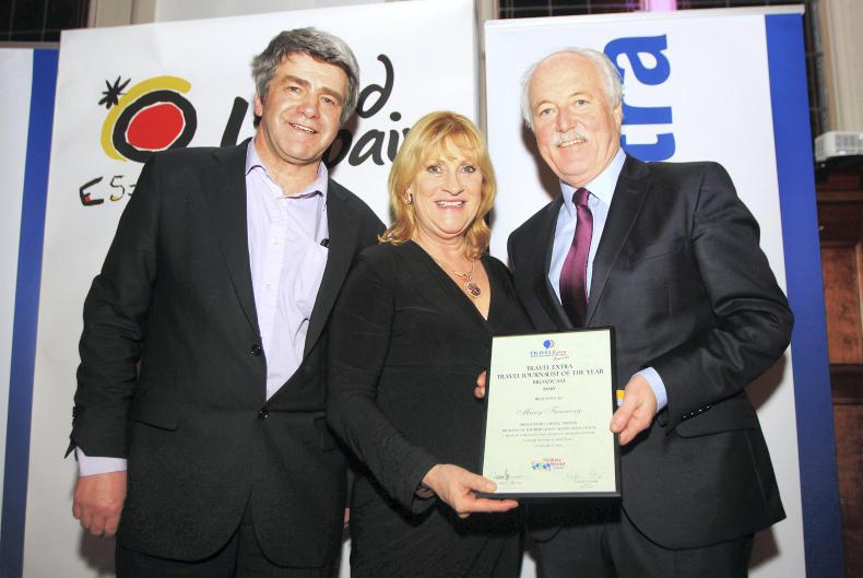 PARROT MOUTH: Bloodstock breeder scoops award