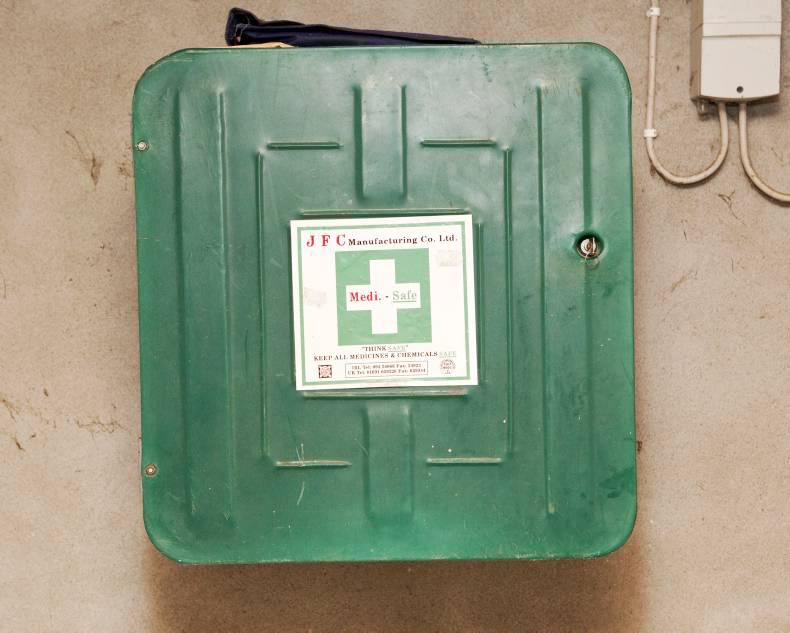 HANDS ON:  The all-important First Aid kit