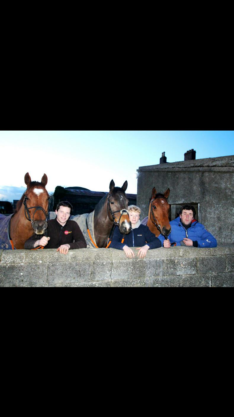 PARROT MOUTH: Top treble for Ado and team