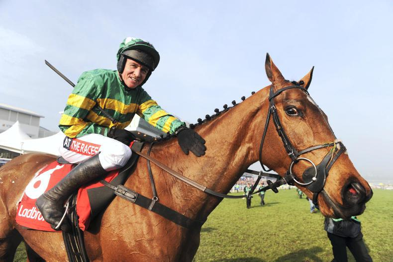 Mixed emotions for Jonjo O'Neill after Irish Gold Cup