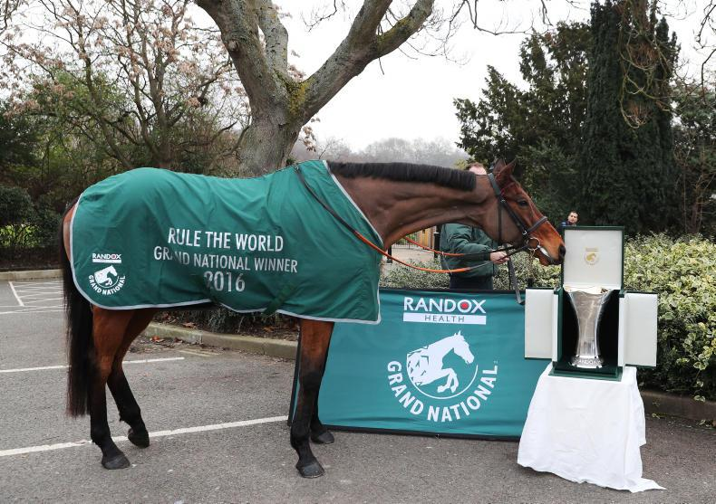 RANDOX GRAND NATIONAL:  It's an Irish Grand National GUBU!