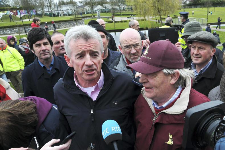 Michael O'Leary accuses UK handicapper of anti-Irish bias