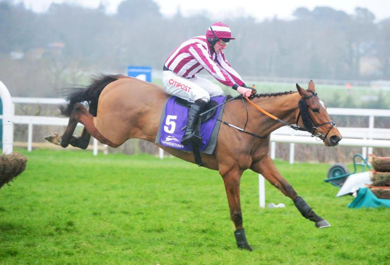 LEOPARDSTOWN SUNDAY: Mega on the way to Triumph