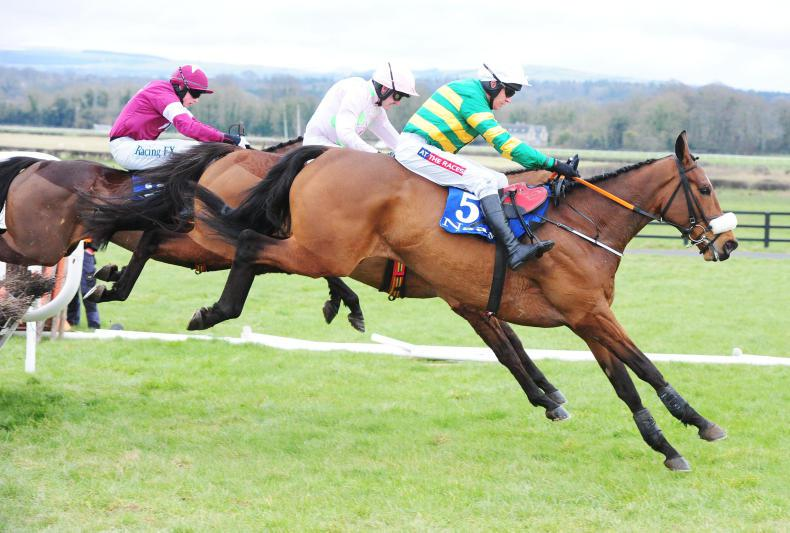 Place gets home to complete five-timer in Boyne Hurdle