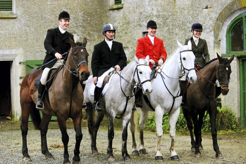 PONY TALES: Army officers hit the hunting field