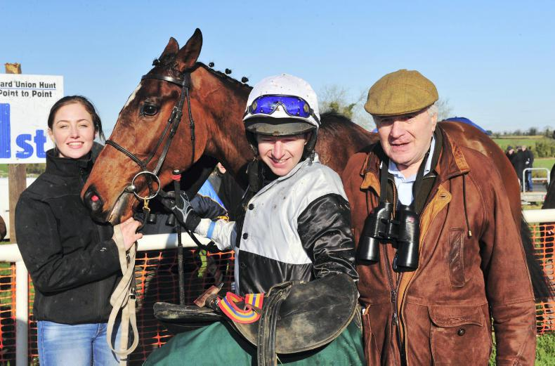 MARGIE McLOONE:  Ward Union Hunt runner hits jackpot