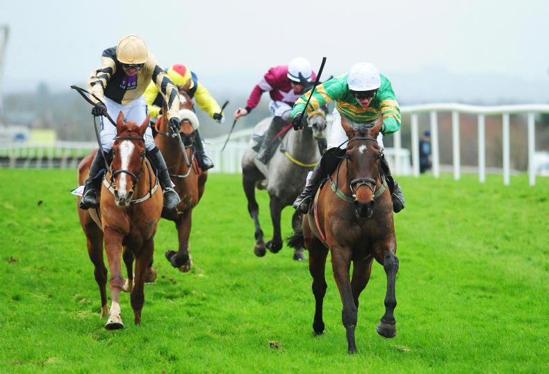 Hot competition at Naas for festival trial