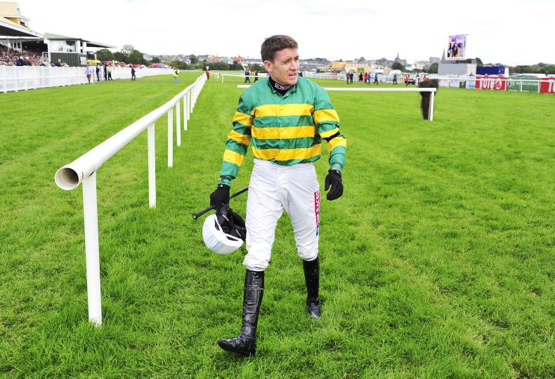 Injured Barry Geraghty to miss Cheltenham Festival after Kempton fall