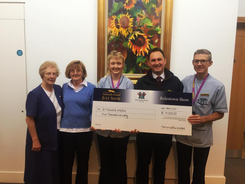 NEWS: Tattersalls make annual donation to hospice