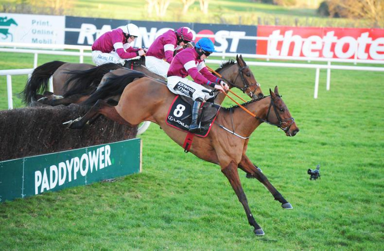 LEOPARDSTOWN WEDNESDAY: Kennedy steers Outlander to glory