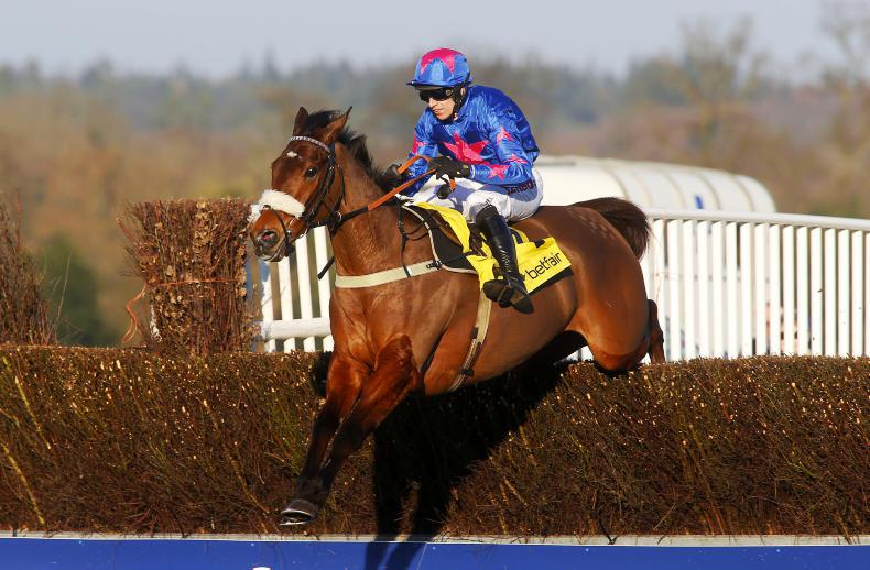 Rashaan and Identity Thief lock horns with Buveur D'Air at Aintree