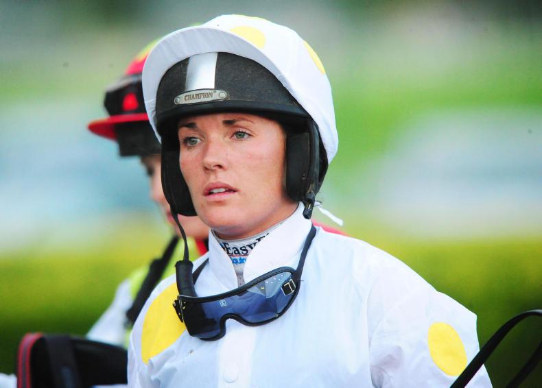 Katie Walsh taken to hospital with arm injury after Aintree fall
