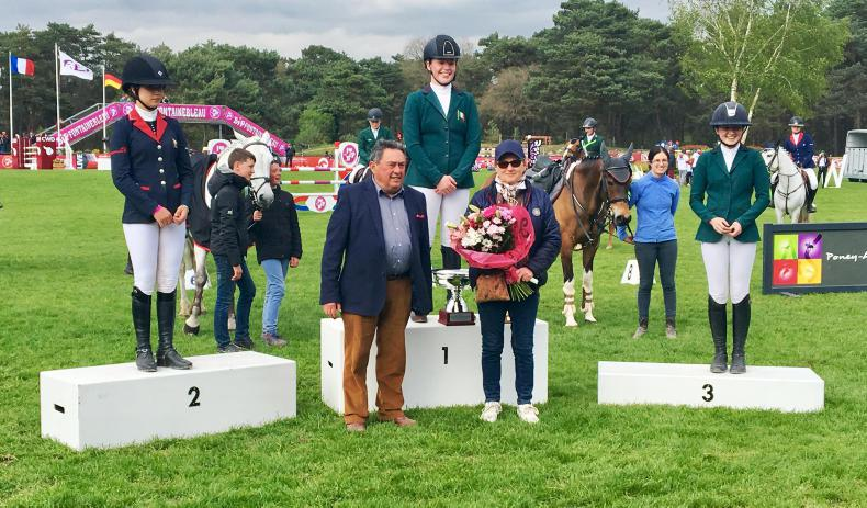 Kate Derwin wins Fontainebleau Grand Prix
