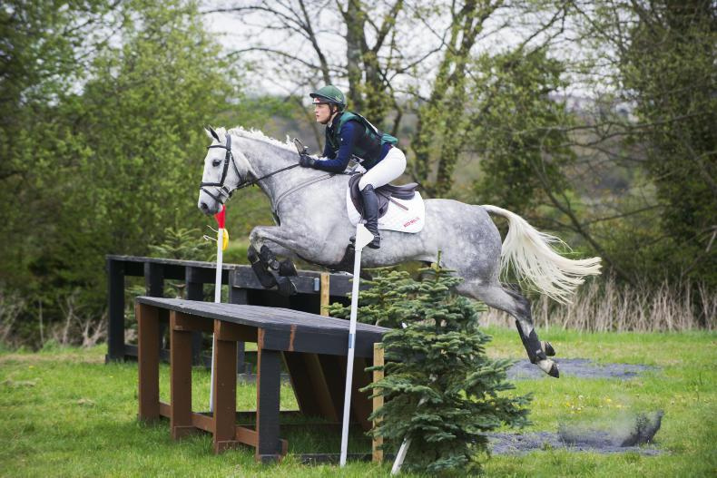 EVENTING CLYDA:  Dowley and Shannondale Dita come out on top