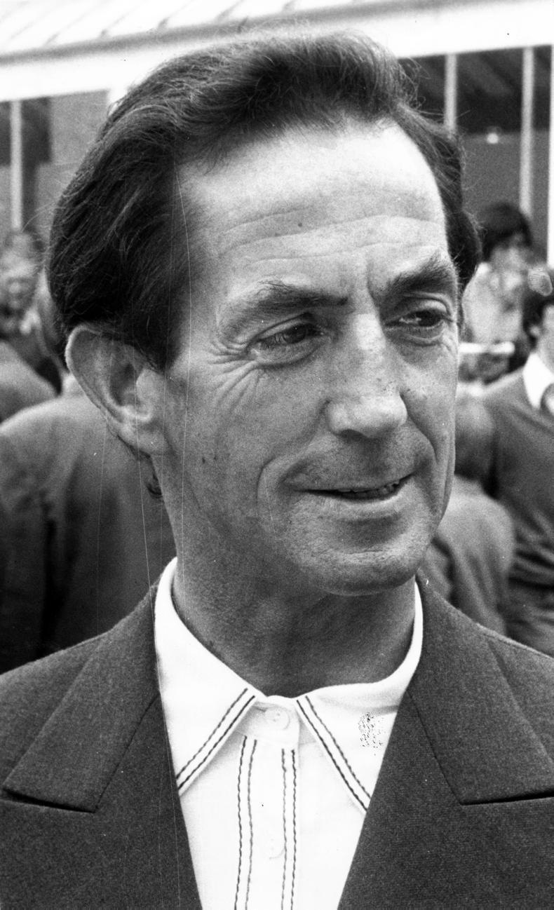 Johnny Roe, former Irish champion jockey, passes away