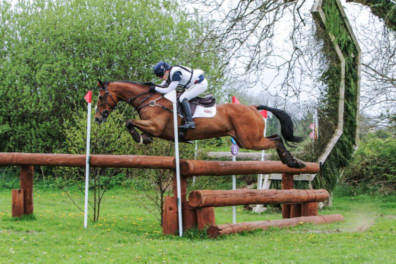 BALLINDENISK: Collett and Mr Bass mean business