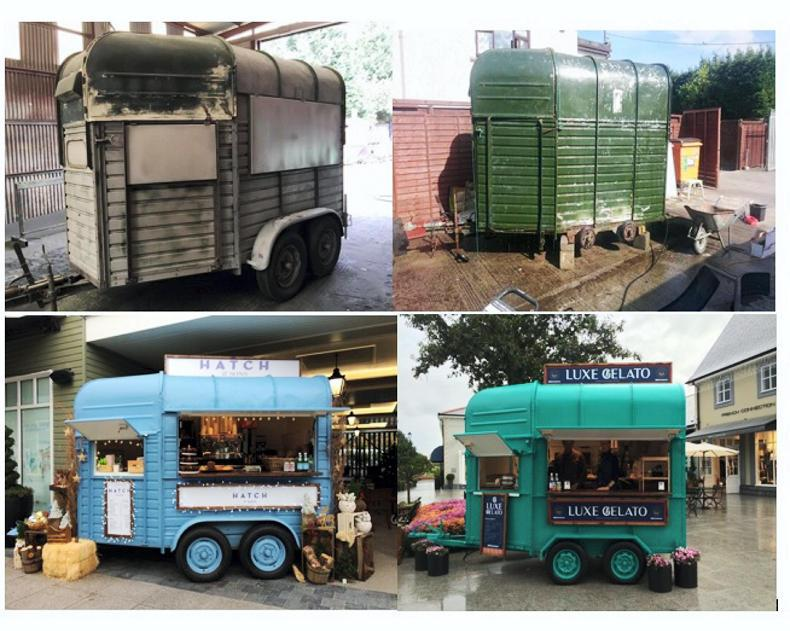 PARROT MOUTH: Horseboxes transformed!