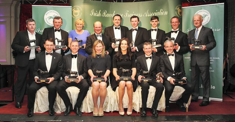Image result for Irish racehorse trainer awards 2016