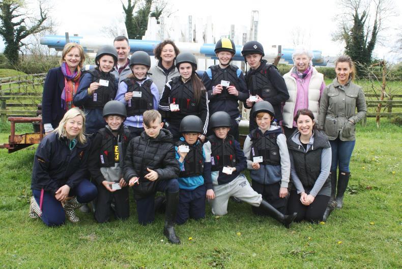 PONY CLUB:  Thomond Pony Club flying along