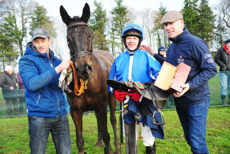 EOGHAIN WARD: Racing to the Champion Novice Rider title