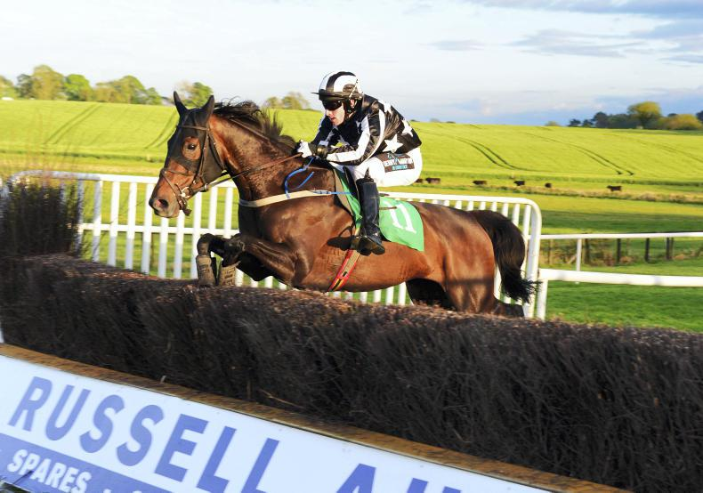 DOWNPATRICK FRIDAY: Miss Blanche survives pile-up