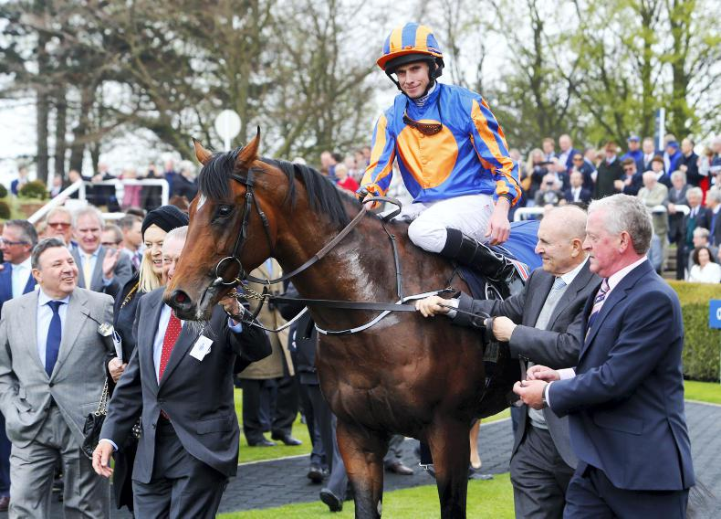 Churchill, Winter and Minding all left in Curragh Group 1 races
