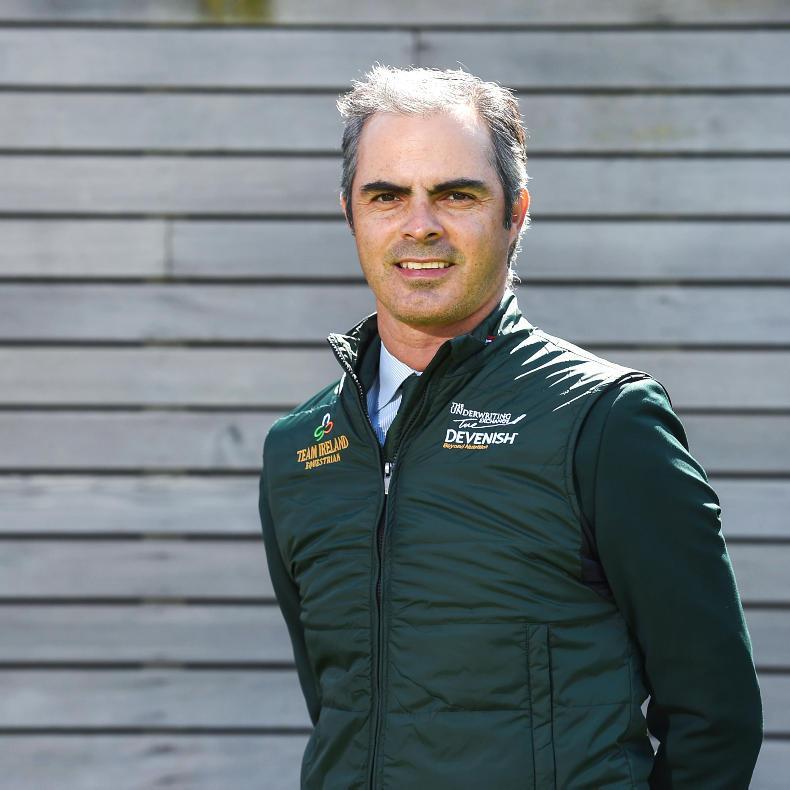 Rodrigo Pessoa names Irish team for Friday's Italian Nations Cup