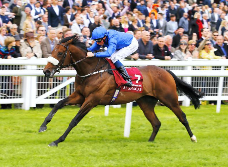 BRITAIN: Ribchester wins the Lockinge in style