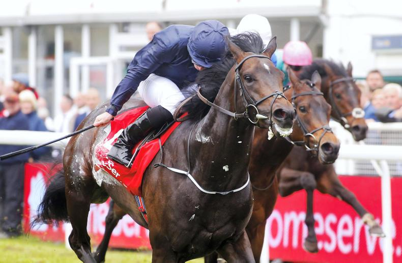 Cracksman and Cliffs Of Moher stand firm in 20-strong Derby line-up