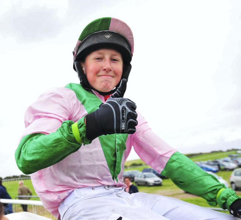 HORSE AND PONY RACING: Taaffe takes a tasty treble